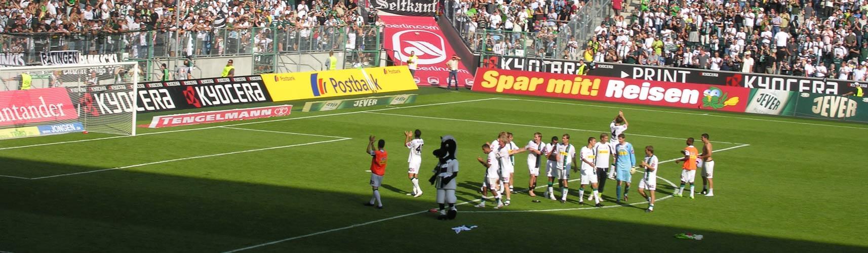 Stadion in Gladbach
