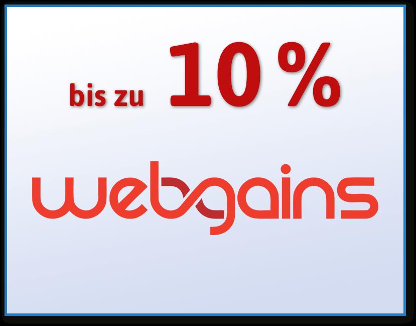 webgains Partnerprogramm